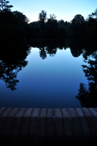 Blue Reflections - Photography by Michelle McCain of Hendersonville, NC