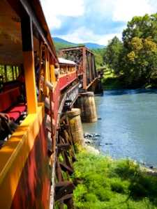 Great Smoky Mountains Railroad - Photography by Michelle McCain of Hendersonville, NC