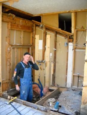 Robert Hennessy, Mosaic Artist and Master Tile Craftsman, Hennessy Floor in Hendersonville, NC